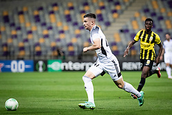 Mihael Klepac of NS Mura  during football match between NS Mura and Vitesse (NED) in 1st round of UEFA Europa Conference League 2021/22, on 16 of September, 2021 in Ljudski Vrt, Maribor, Slovenia. Photo by Blaž Weindorfer / Sportida