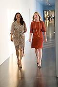 MALA HAARMAN; KADEE ROBBINS, Per Kirkeby Opening Reception and Dinner. Tate Modern. 16 June 2009.