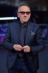 © Licensed to London News Pictures. 11/10/2017. London, UK. ELVIS COSTELLO attends the European film premiere of Stars Don't Die In Liverpool showing as part of the 51st BFI London Film Festival. Photo credit: Ray Tang/LNP