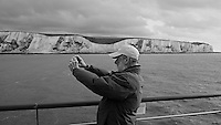 Arriving in Dover, England on the MV Explorer. Image taken with a Leica X2 camera (ISO 100, 24 mm, f/4.5, 1/125 sec). Semester at Sea Spring 2013 Enrichment Voyage.