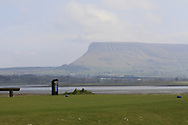 """A view of """"Ben Bulbin"""" from the 12th tee during Round 4 of The West of Ireland Open Championship in Co. Sligo Golf Club, Rosses Point, Sligo on Sunday 7th April 2019.<br /> Picture:  Thos Caffrey / www.golffile.ie"""