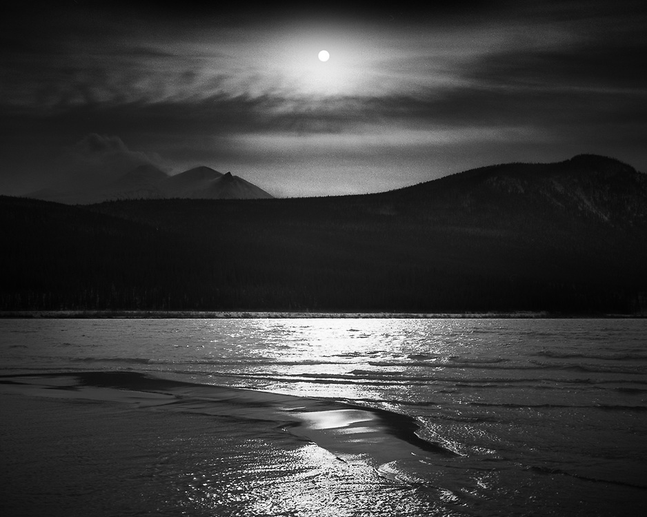 Sandbank, Bennett Lake, YT