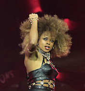 Fleur East during the X Factor Live Tour 2015 at the Brighton Centre, Brighton & Hove, United Kingdom on 16 March 2015. Photo by Phil Duncan.