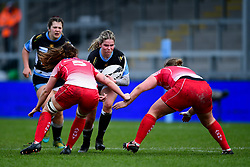 Milla Lynch-Barsby of Exeter Chiefs - Mandatory by-line: Ryan Hiscott/JMP - 07/03/2020 - SPORT- Sandy Park - Exeter, United Kingdom - Exeter Chiefs Women v Army Women