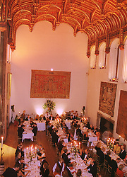 A dinner at Crosby Hall in Chelsea on 22nd September 1998.  MKE 53