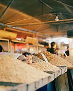 Young girl ina food market in Tianshui, Gansu province, China