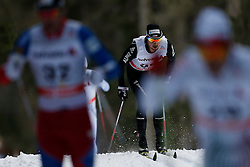 13.12.2014, Davos, SUI, FIS Langlauf Weltcup, Davos, 15 km, Herren, im Bild Corsin Hoesli (SUI) // during Cross Country, 15km, men at FIS Nordic world cup in Davos, Switzerland on 2014/12/13. EXPA Pictures © 2014, PhotoCredit: EXPA/ Freshfocus/ Christian Pfander<br /> <br /> *****ATTENTION - for AUT, SLO, CRO, SRB, BIH, MAZ only*****