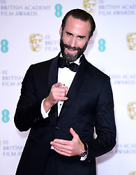 Joseph Fiennes in the press room at the 72nd British Academy Film Awards held at the Royal Albert Hall, Kensington Gore, Kensington, London.