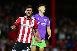 Josh Brownhill of Bristol City reacts after coming close to scoring  - Mandatory by-line: Dougie Allward/JMP - 15/08/2017 - FOOTBALL - Griffin Park - Brentford, England - Brentford v Bristol City - Sky Bet Championship