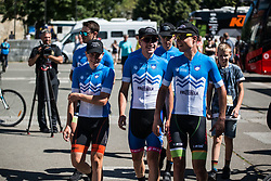 Team Slovenia before 2nd Stage of 26th Tour of Slovenia 2019 cycling race between Maribor and Celje (146,3 km), on June 20, 2019 in  Slovenia. Photo by Peter Podobnik / Sportida