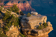 View of the Grand Canyon from Yaki Point at sunrise