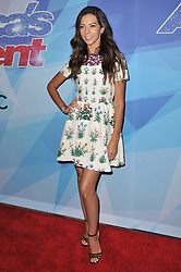 """Terri Seymour at the NBC """"America's Got Talent"""" Season 12 Live Show held at the Dolby Theater in Hollywood, CA on Tuesday, August 22, 2017. (Photo By Sthanlee B. Mirador/Sipa USA)"""