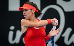 January 1, 2019 - Brisbane, AUSTRALIA - Ajla Tomljanovic of Australia in action during her first-round match at the 2019 Brisbane International WTA Premier tennis tournament (Credit Image: © AFP7 via ZUMA Wire)