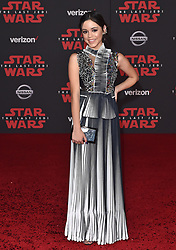 "©AXELLE/BAUER-GRIFFIN.COM World Premiere of ""Star Wars: The Last Jedi"". Shrine Auditorium, Los Angeles, CA. EVENT December 9, 2017. 09 Dec 2017 Pictured: Jenna Ortega. Photo credit: AXELLE/BAUER-GRIFFIN/MEGA TheMegaAgency.com +1 888 505 6342"