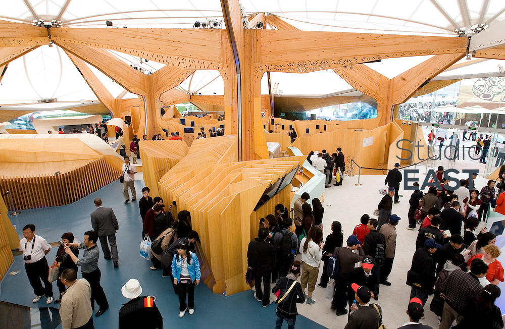 Norwegian Pavilion, part of Shanghai World Expo 2010, in Shanghai, China, on May 14, 2010. Photo by Lucas Schifres/Pictobank