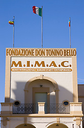 Museo dedicato a Don Tonino Bello, sito nella piazza centrale di Alessano.