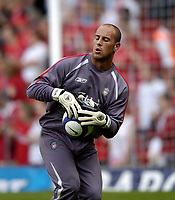 Jose Reina<br />Liverpool 2005/06<br />Liverpool V Total Network Soloutions (3-0) 13/07/05<br />UEFA Champions League Qualifier, 1st Round 1st Leg<br />Photo Robin Parker Fotosports International