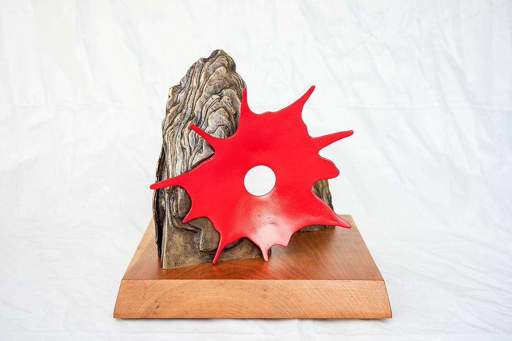 Maker's Mark sculpture bronze maquette edition by Matt Weir, photographed Wednesday, Oct. 7, 2020 at his studio in Louisville, Ky.