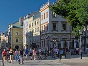 Ulica Grodzka w Krakowie, Polska<br /> Grodzka Street, Cracow, Poland