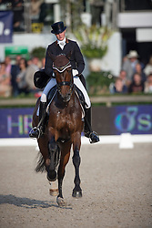 Andersen Maria Anita (DEN) - Loxana <br /> CDIO5 Grand Prix Freestyle <br /> CHIO Rotterdam 2014<br /> © Dirk Caremans