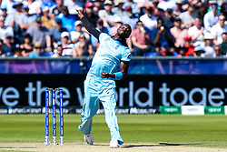 Jofra Archer of England bowling - Mandatory by-line: Robbie Stephenson/JMP - 03/07/2019 - CRICKET - Emirates Riverside - Chester-le-Street, England - England v New Zealand - ICC Cricket World Cup 2019 - Group Stage