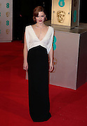 Feb 8, 2015 - EE British Academy Film Awards 2015 - Red Carpet Arrivals at Royal Opera House<br /> <br /> Pictured: Holliday Grainger<br /> ©Exclusivepix Media