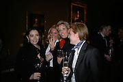 PAULA MARCHESI, ALLESANDRA DI MONTEZEMOLO, COUNTESS DE MICHELIS DI SLONGHELLO ALESSANDRA AND COUNTESS ISABELLA DE MICHELIS. private view of The Alberto Bruni Tedeschi Collection -  Sotheby's,19 March 2007.  -DO NOT ARCHIVE-© Copyright Photograph by Dafydd Jones. 248 Clapham Rd. London SW9 0PZ. Tel 0207 820 0771. www.dafjones.com.