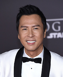 Celebrities arrive at the 'Rogue One: A Star Wars Story' movie premiere in Hollywood, California. 10 Dec 2016 Pictured: Donnie Yen. Photo credit: American Foto Features / MEGA TheMegaAgency.com +1 888 505 6342