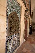 Interior of St James Armenian Church Jerusalem, Israel