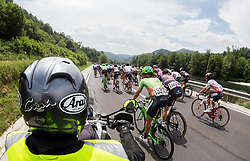 Peloton near Litija during Stage 2 of 24th Tour of Slovenia 2017 / Tour de Slovenie from Ljubljana to Ljubljana (169,9 km) cycling race on June 16, 2017 in Slovenia. Photo by Vid Ponikvar / Sportida