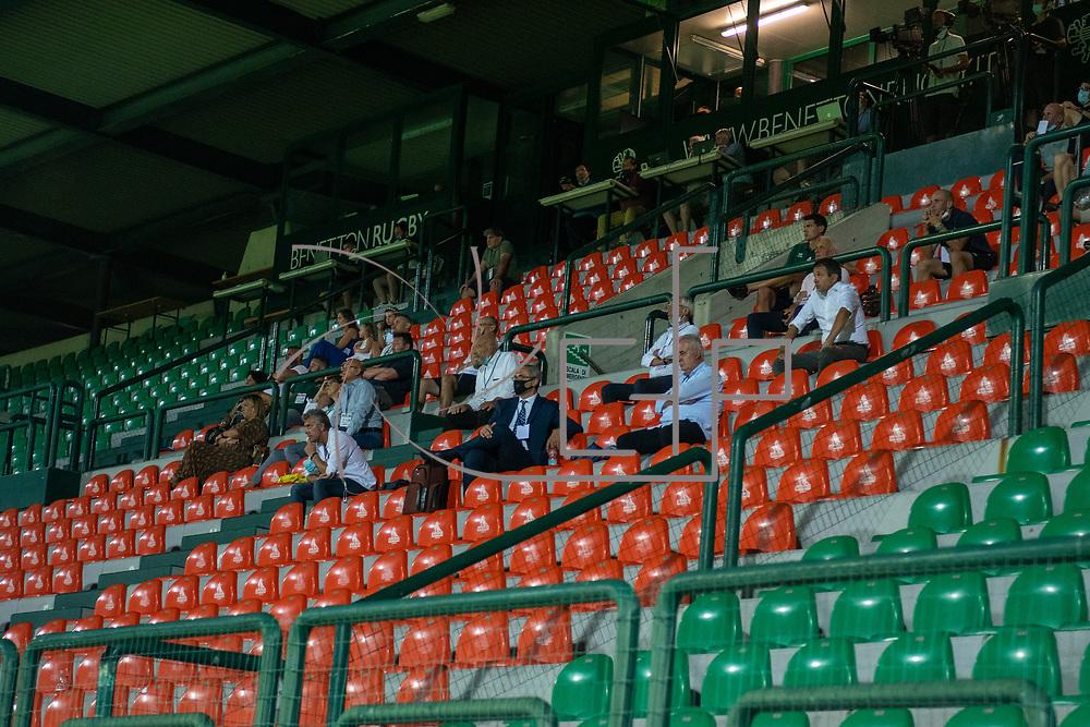 Treviso, Italy, 21/08/2020 Stadio Monigo<br /> Guinness PRO14 Benetton Treviso v Zebre