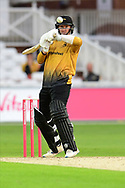 Tom Taylor of Leicestershire during the Vitality T20 Blast North Group match between Nottinghamshire County Cricket Club and Leicestershire County Cricket Club at Trent Bridge, Nottingham, United Kingdom on 4 September 2020.