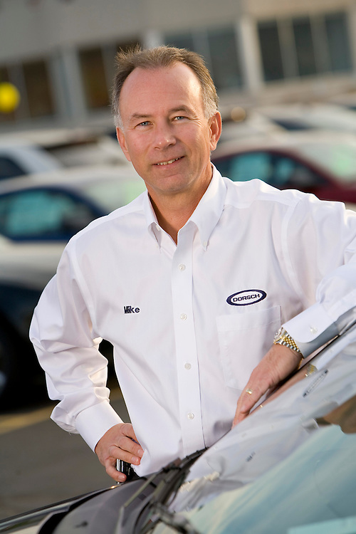 Mike Dorsch of Dorsch Ford Lincoln Mercury, Kia in Green Bay, Wisconsin on Nov. 5, 2008 (Photo / Mike Roemer Photography)