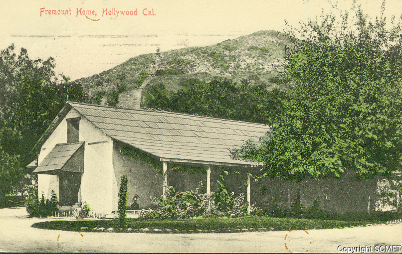 1906 Tomas Urquidez adobe, built in 1853, was located in what is now the Outpost Estates