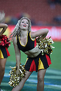 Chiefs Dancer Angela Clements during the Investec Super 15 Rugby match, Chiefs v Rebels, at Waikato Stadium, Hamilton, New Zealand, Saturday 5 March 2011. Photo: Dion Mellow/photosport.co.nz