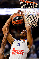 Real Madrid's Anthony Randolph duringTurkish Airlines Euroleague match between Real Madrid and FC Barcelona Lassa at Wizink Center in Madrid, Spain. March 22, 2017. (ALTERPHOTOS/BorjaB.Hojas)