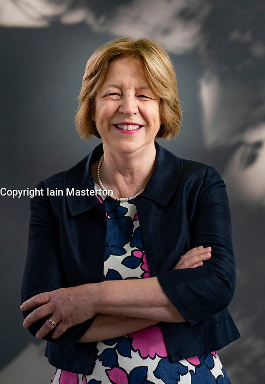 Edinburgh, Scotland, UK. 26 August 2019. Ursula Buchan. Ursula Buchan, the granddaughter of Scottish novelist John Buchan visits the book festival to talk about her grandfather  who was a pioneer of the modern thriller  Iain Masterton/Alamy Live News.
