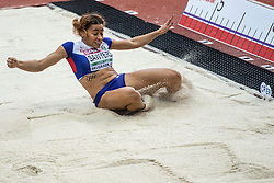 05-03-2017  SRB: European Athletics Championships indoor day 3, Belgrade<br /> Jazmin Sawyers GBR Long Jump