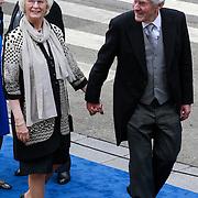 NLD/Amsterdam/20130430 - Inhuldiging Koning Willem - Alexander, Ruud Lubbers en partner