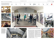 Underground London feature for NRC Handelsblad Newspaper, Netherland