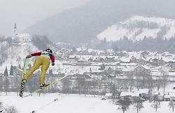 Lucie Mikova of Czezh Republic during Normal Hill Individual Competition at FIS World Cup Ski jumping Ladies Ljubno 2012, on February 12, 2012 in Ljubno ob Savinji, Slovenia. (Photo By Vid Ponikvar / Sportida.com)