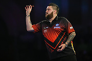 Michael Smith during the World Darts Championships 2018 at Alexandra Palace, London, United Kingdom on 19 December 2018.
