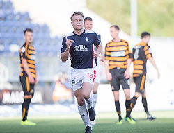 Falkirk's Peter Grant celebrates after scoring their first goal.  Falkirk 2 v 1 Alloa Athletic, Scottish Championship game played 4/10/2014 at The Falkirk Stadium.