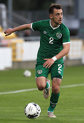 Republic of Ireland's Lee O'Connor in action during the UEFA Under-21 Championship Qualifying Round Group F match at the Tallaght Stadium, Dublin. Picture date: Friday October 8, 2021.