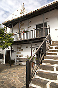 Traditional architecture of town hall building, Fuerteventura, Canary Islands, Spain