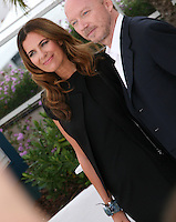 Roberta Armani and Paul Haggis at the HAÏTI CARNAVAL IN CANNES photocall at the 65th Cannes Film Festival. Friday 18th May 2012 in Cannes Film Festival, France.