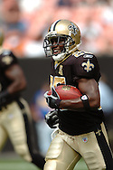 MORNING JOURNAL/DAVID RICHARD.New Orleans Saints running back Reggie Bush.