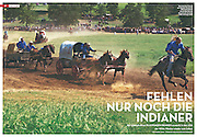 National Chuckwagon Races in collaboration with Sol Neelman for Stern VIEW.
