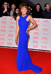 Bonnie Langford attending the National Television Awards 2018 held at the O2 Arena, London. PRESS ASSOCIATION Photo. Picture date: Tuesday January 23, 2018. See PA story SHOWBIZ NTAs. Photo credit should read: Matt Crossick/PA Wire