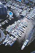 The Ft. Lauderdale Florida Boat Show is the world's largest gathering of boat manufacturers, vendors and customers attracting 100's of thousands of people every year.